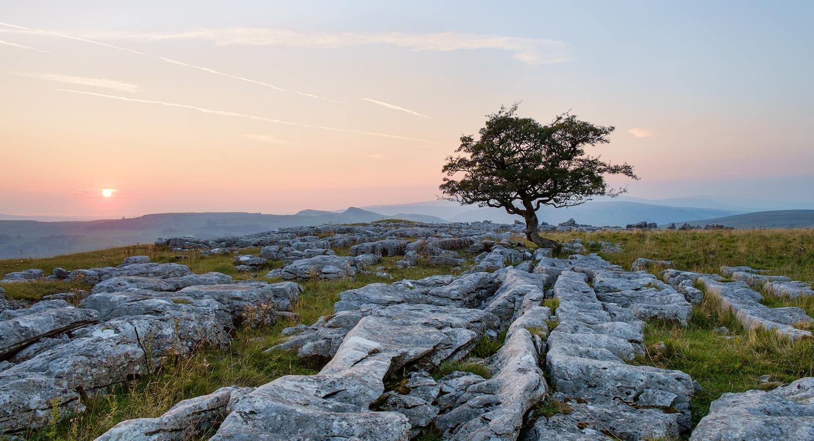 Sunset, Winskill stones